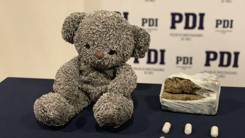 NarcoTED: Detienen a sujeto que trasladaba la droga en un peluche