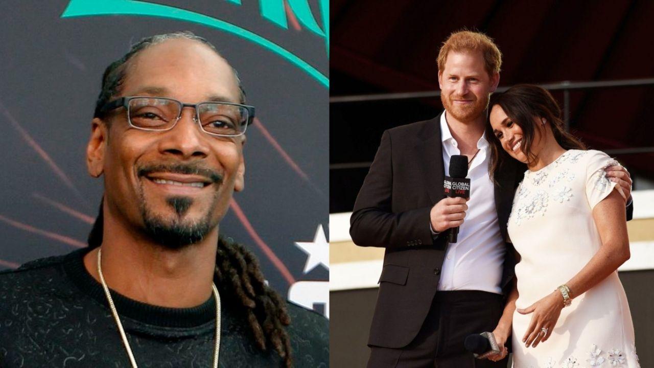 Snoop Dogg adula al príncipe Harry, Meghan Markle por su 'voluntad de vivir la vida a su manera'