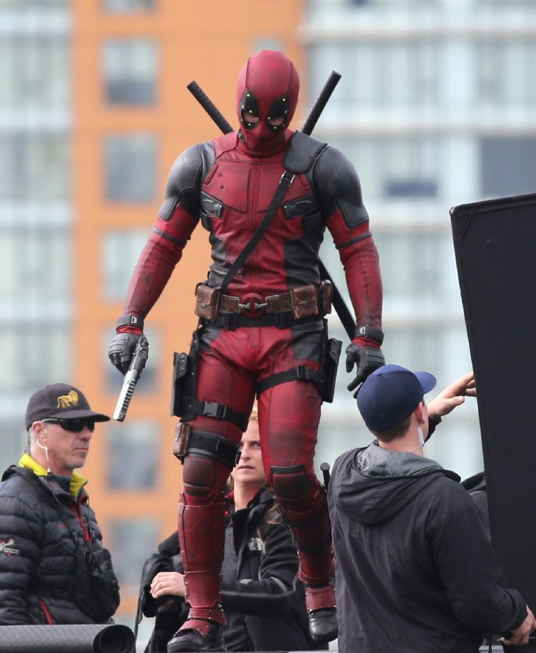 This isn't Ryan Reynolds' official Deadpool debut in the MCU, but Reynolds and Taika Waititi appeared as their Marvel characters together to promote the upcoming Free Guy movie featuring both actors.
