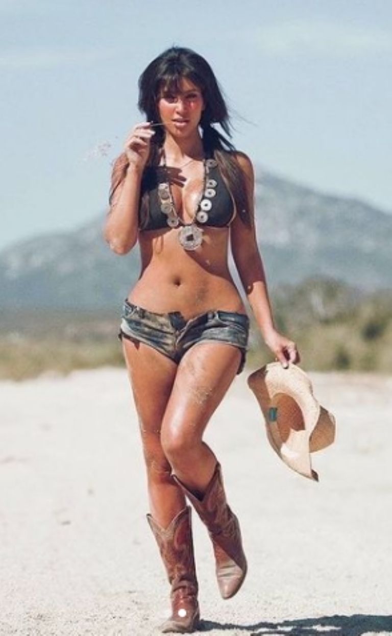 Kim Kardashian always uses her Instagram account to share amazing photos, like this one from July 20th ( Instagram capture/ kimkardashian)