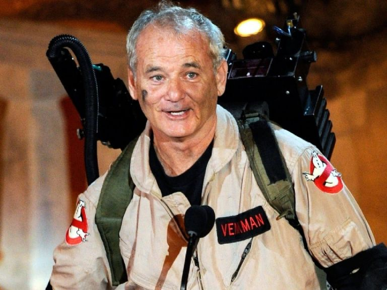 Bill Murray Ghostbusters Afterlife 2021