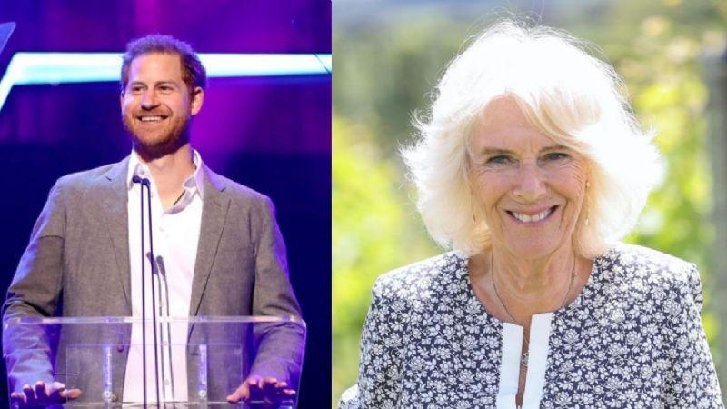 Preocupación por memorias del príncipe Harry en que podría arrastrar a su madrastra Camilla Parker
