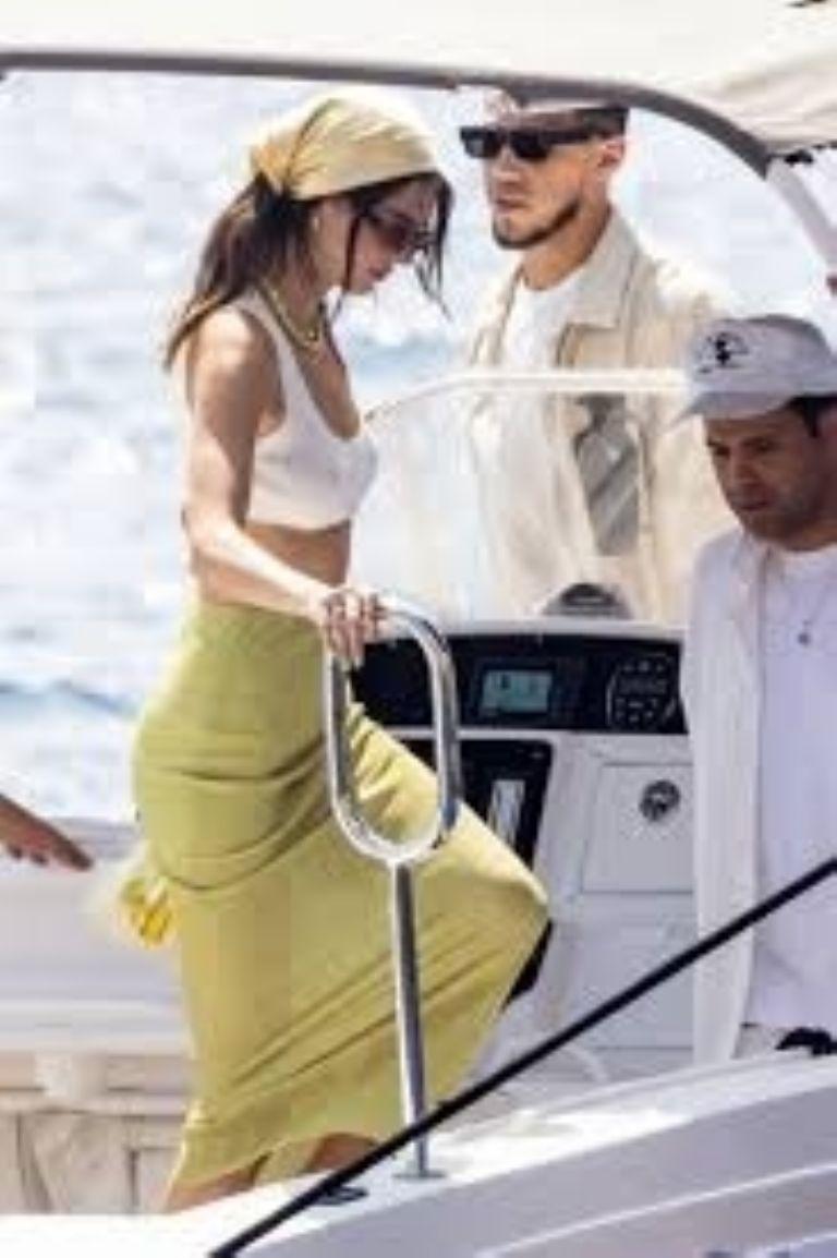 Kendall Jenner is enjoying her new relationship