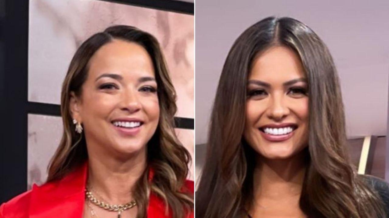 Andrea Meza, Miss Universo, y Adamari López posaron juntas y se robaron todas las miradas