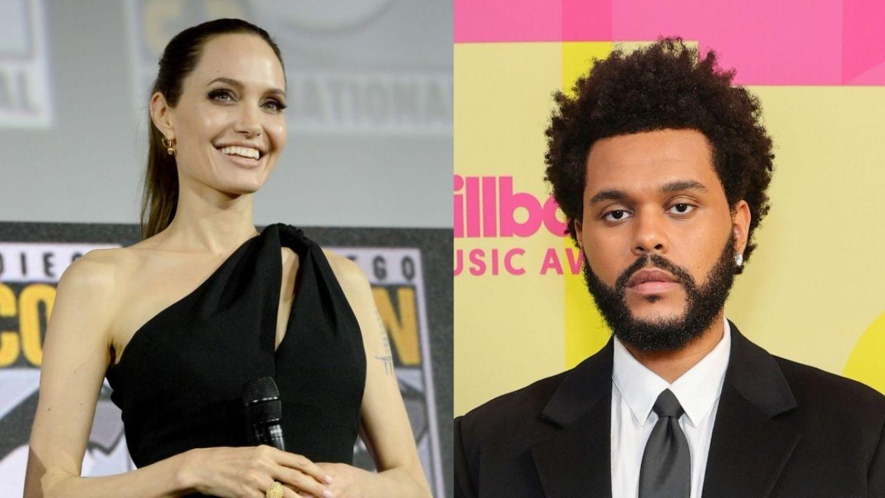 Angelina Jolie y The Weeknd vuelven a provocar rumores de romance luego de salir a cenar